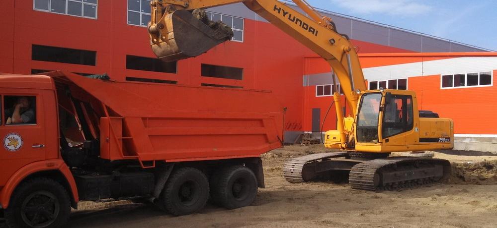 Монтаж основания для бетонных полов на ул. Аустрина, 169