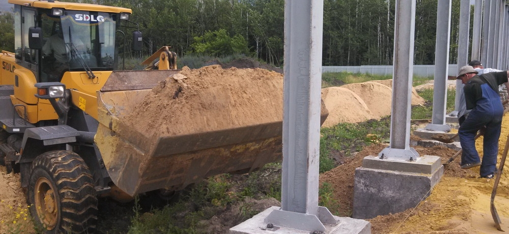 Строительство сооружения сельскохозяйственного назначения в п. Чемодановка